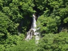 霧降の滝(上段)